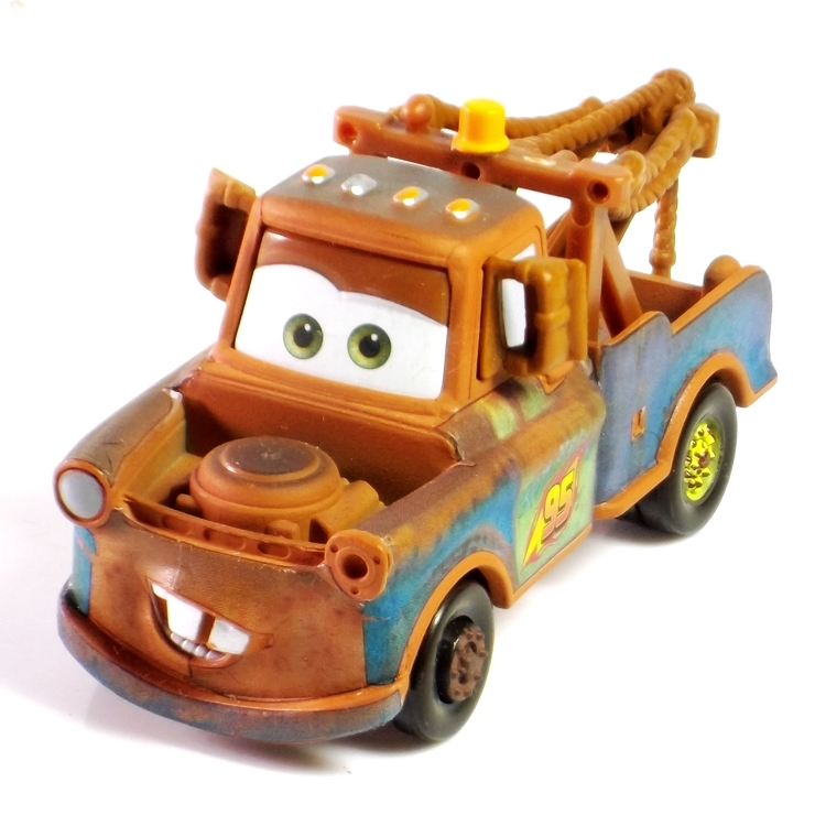 T005 Pixar Cars 2 tow Mater 1:55 Scale Diecast Metal Alloy Modle Brio Cute Toys For Children Gifts Free Shipping(China (Mainland))