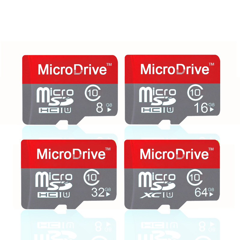 Micro Drive Micro SD card 64GB 32GB class 10 16GB 8GB 4GB class 6 memory card micro TF sd cards mobile phone with retail package(China (Mainland))