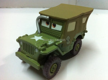 Buy Pixar Cars Saluting Sarge Metal Diecast Toy Car 1:55 Loose Brand New Stock & Free for $12.99 in AliExpress store