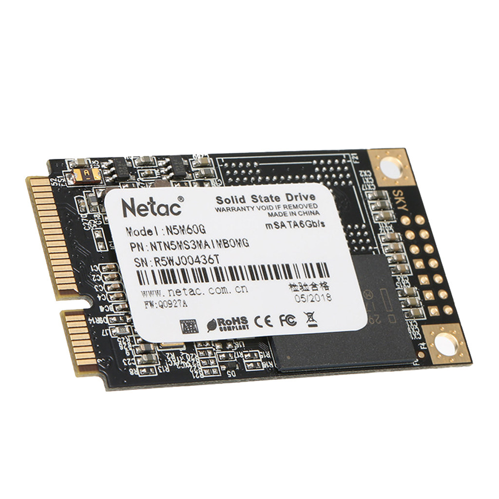SSD Internal 60GB Solid State Drive High Speed mSATA 6Gb/s for Computer