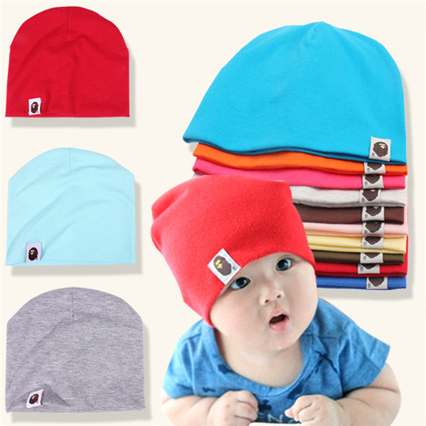 Spring Autumn Winter Baby Beanie Hat Cap Children Accessories Cotton Soft Cute Hat Toddler Boys & Girls kids Hat Cap(China (Mainland))