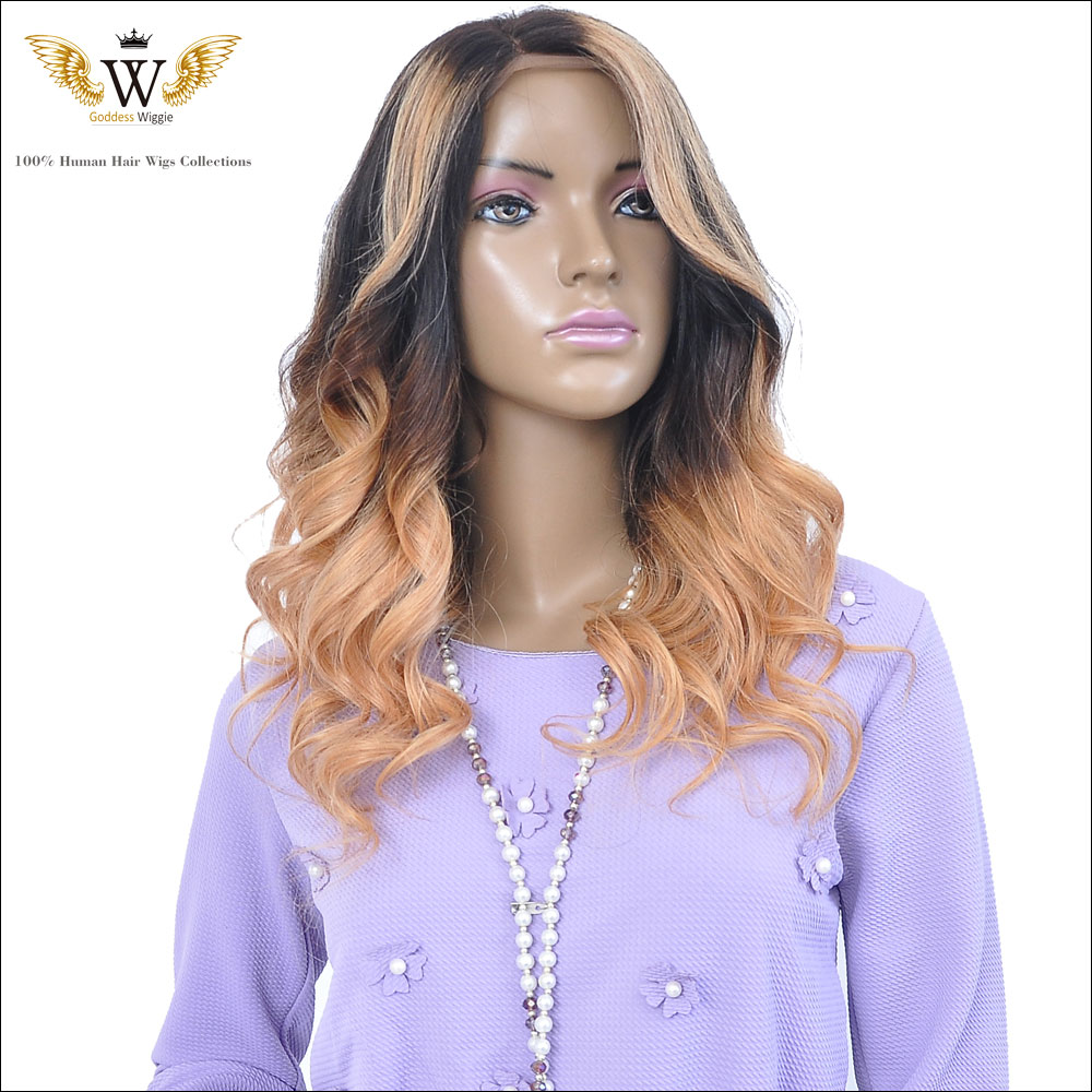 Two Tone Ombre Lace Wigs Brazilian Virgin Hair Full Lace Human Hair Wigs Ombre Wavy Lace Front Wigs For Black Women