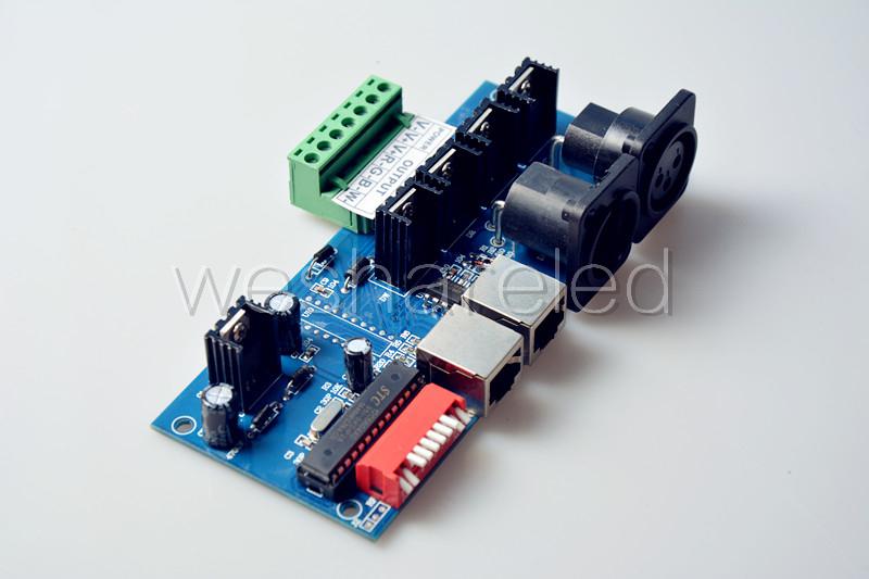 RGBW 4ch DMX512 Controller LED DMX Controller 4Channels x 4A DMX512 LED Decoder Controller DC12-24V for strip light(China (Mainland))
