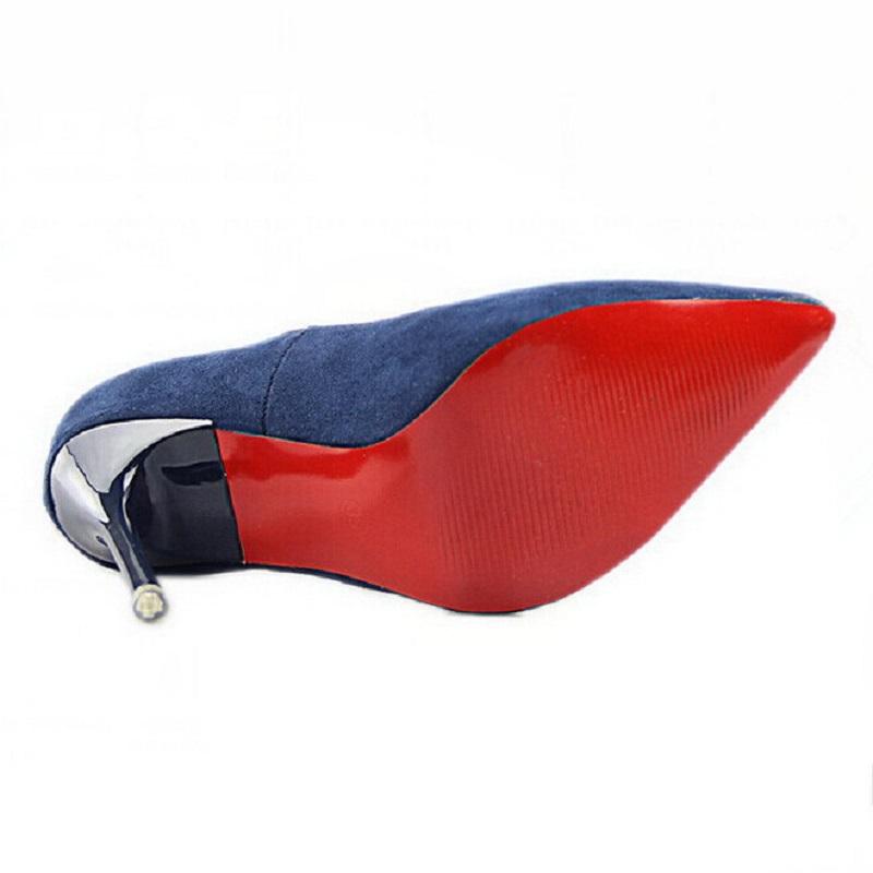 Aliexpress.com : Buy Fashion Women Shoes Thin Heel Pumps Red ...