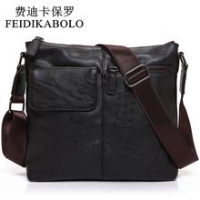 Buy FEIDIKABOLO Men's Fashion PU Leather Crossbady Bag Male Designer Handbags Men Messenger Business High Shoulder Bags Men for $16.67 in AliExpress store