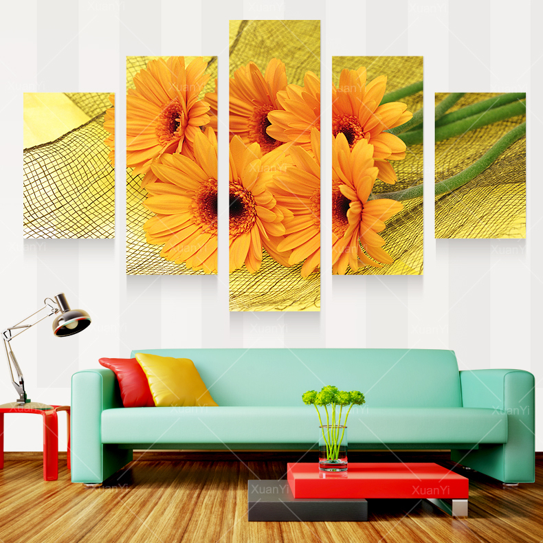 Http Www Aliexpress Com Store Product Modern Prints Beautiful Flower Painting Pictures Cuadros Decoracion Painting For Living Room Canvas Home Decor Unframed 238599 32352223415 Html