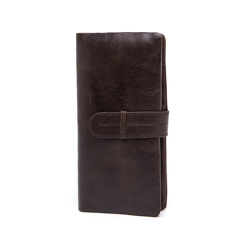 Genuine Leather Men Wallet Fashion Style Men Clutch Card Photo Holder Cash Money Bill Phone Card Clip Male Purse Free Shipping(China (Mainland))