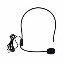 Microphone Vocal Wired Headset microfono For Voice Amplifier Speaker Mike(China (Mainland))