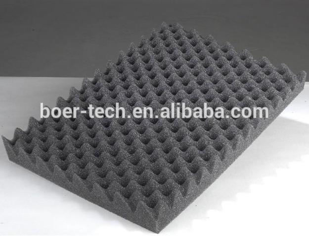 Гаджет  18pcs 50*50*5cm inch gray egg shell shape sound absorbing foam sponge panel  None Строительство и Недвижимость