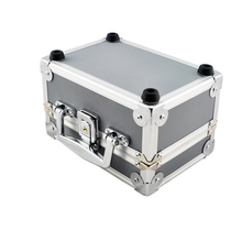 Free Shipping Dentist Dental Binocular Loupes Optical Glass Loupe Led Head Light Lamp Aluminum Tool Box Case Container(China (Mainland))