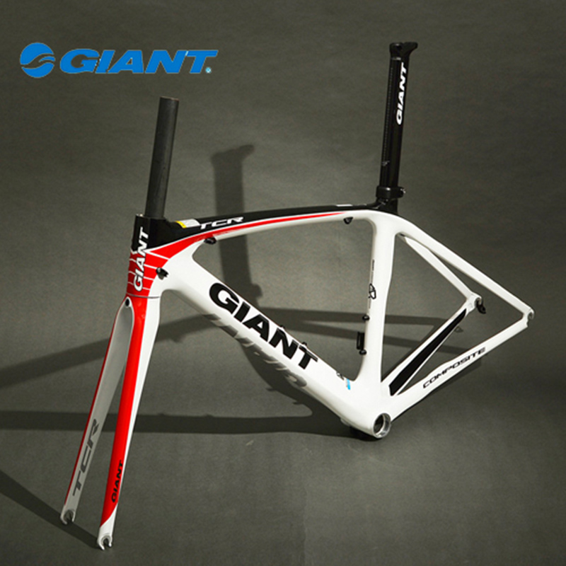 GIANT TCR Bicycle Composite Carbon Frame Set 700C Ultralight Road Bike Frame Size S 465mm(China (Mainland))