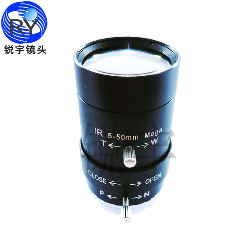 5-50mm Megapixel MP HD manual focus manual iris vari-focal CMOS/ CCD SDI CVI CCTV camera lens 1/3 CCTV lens CS mount(China (Mainland))