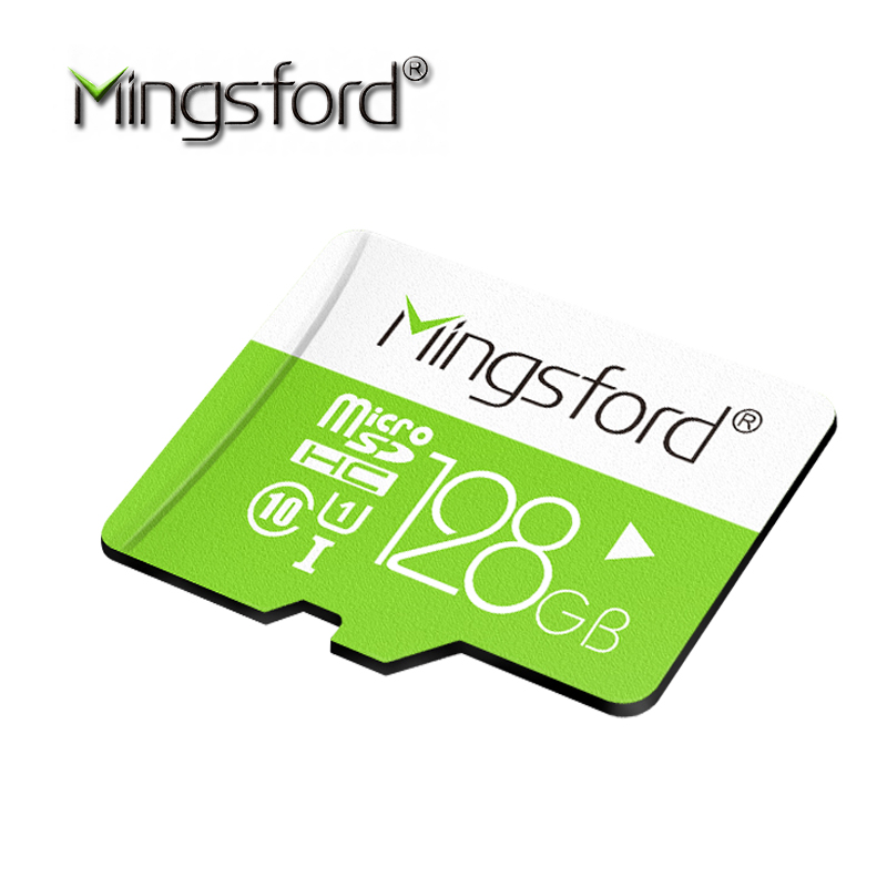 MIngsford Real Capacity MemoryCard 128GB Micro Sd Card SDXC Class10 Microsd Card Microsd High Speed for Phones MP3 Free Shipping(China (Mainland))