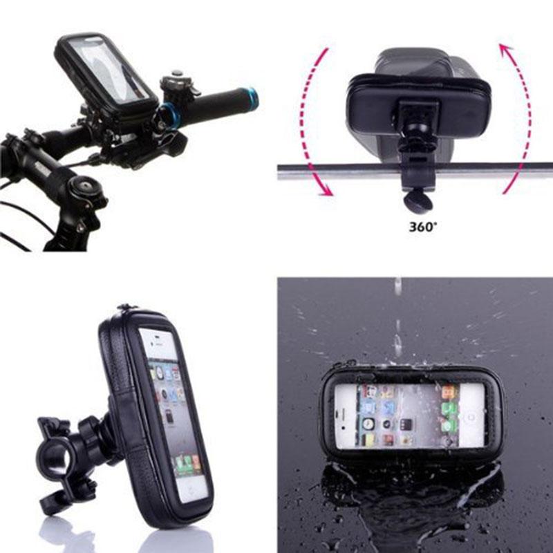 Bike Phone Holder for LG G3 G4 Waterproof Bag Bicycle Phone Bag Case Handlebar Mount Holder