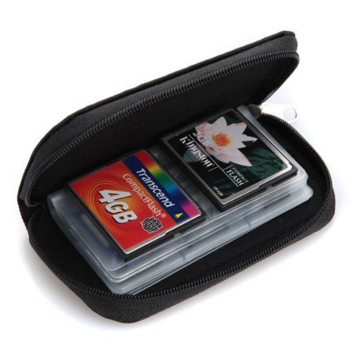 NEWBRAND 22 slots case pouch holder wallet for SD SDHC MMC CF Micro SD Memory Card<br><br>Aliexpress