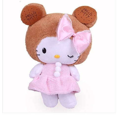 NEW STuffed animal hello kitty doll about 45cm plush toy 17 inch soft Toy birthday gift wh746(China (Mainland))