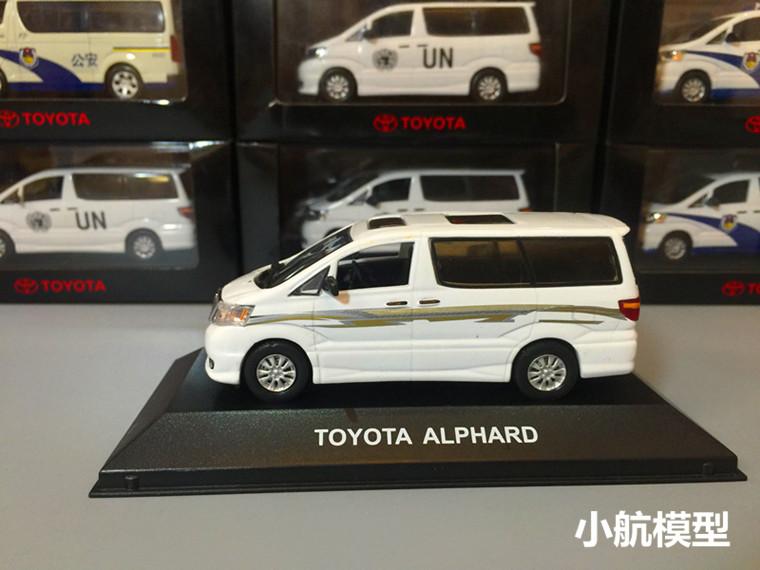 1/43 TOYOTA ALPHARD Toyota El Lahua model car special version<br><br>Aliexpress