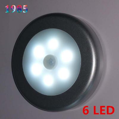 Night Light LED Lamps Wall Lamp Kitchen Cabinet Closet Lighting 5W Human Auto Sensing Light Sensor Sticker Light Control(China (Mainland))
