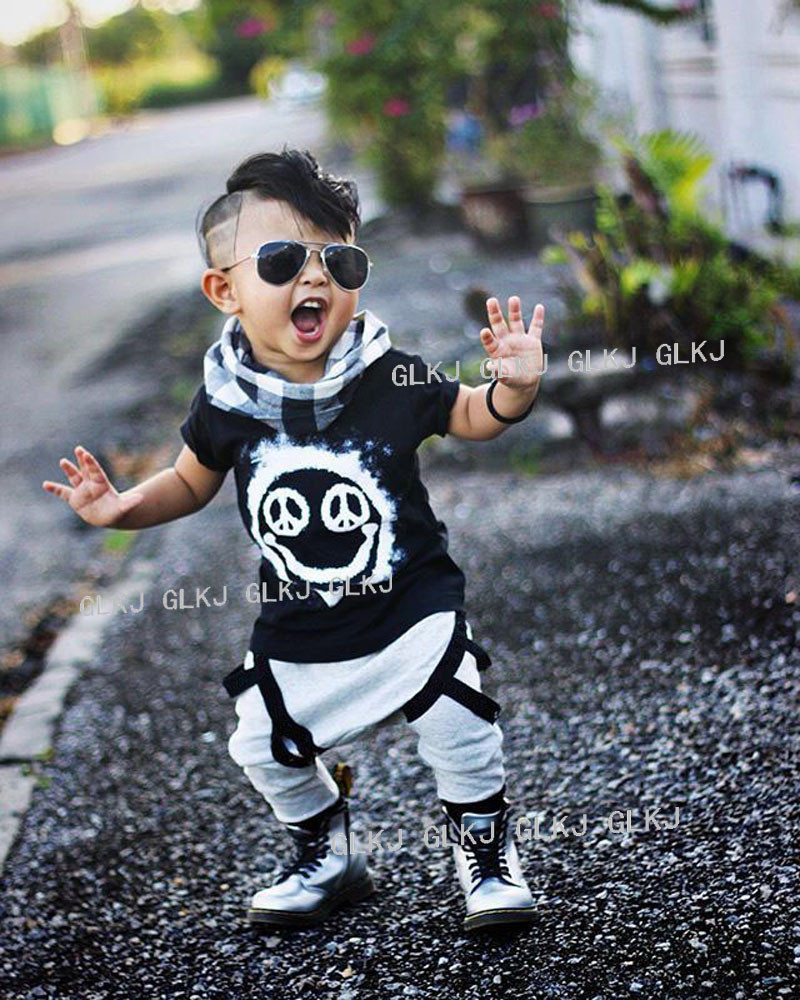 2016 Summer Baby Clothing Sets O Neck Shorts +Pants Baby Boy Clothes Toddler Kids Newborn Outfits Baby Kleding Meisje(China (Mainland))