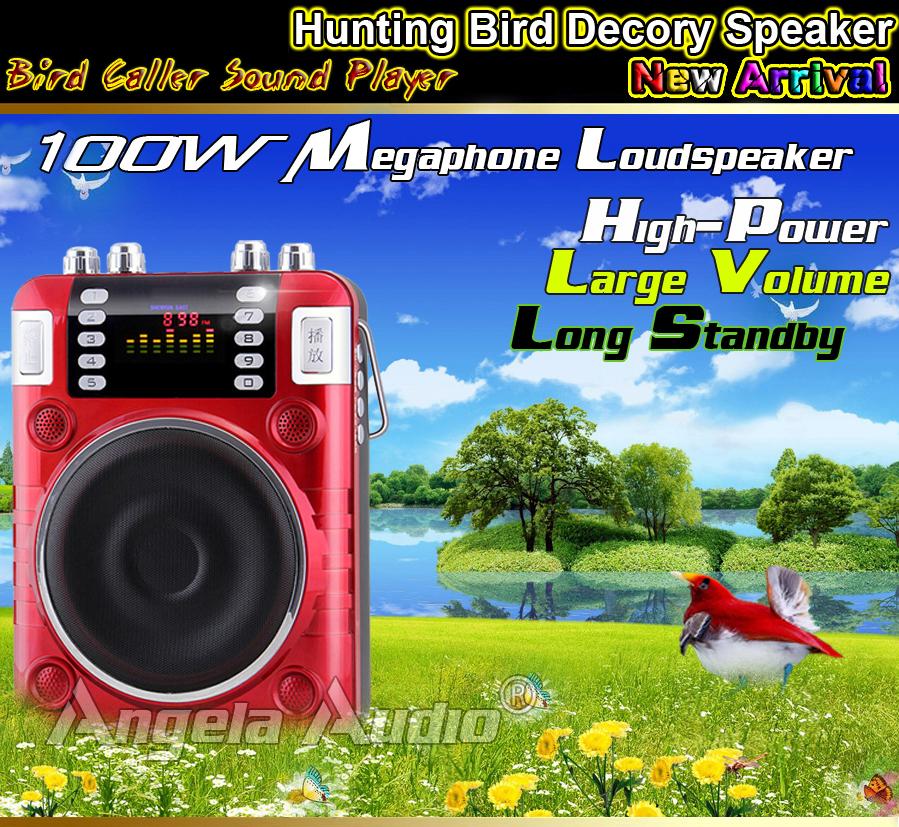 High Power MP3 Hunting Bird Caller Hunting Bird Decoy Amplifier Loudspeaker Voice Bird Hunting Speaker For Duck Crow Goose Decoy<br>