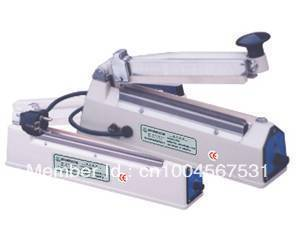 Brand new Durable Hand impulse sealer with side cutter ( CE certificate ) Aluminium body.200mm sealing size