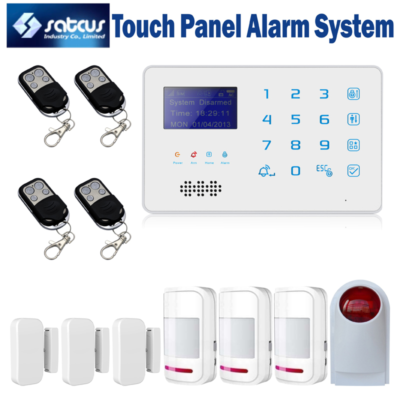 Buy brand new touch keypad wireless gsm for Buy house alarm system