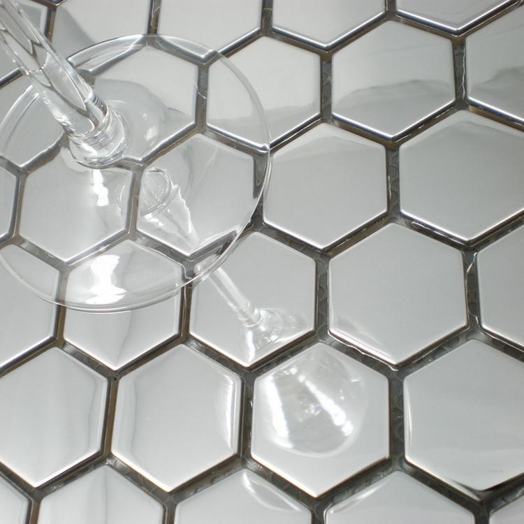 Livraison gratuite 26 mm nid d abeille motif en acier for Carrelage nid d abeille