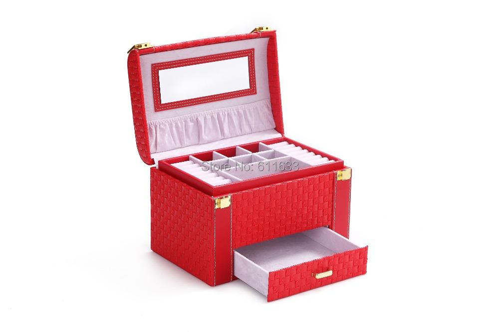 wholesale high quality jewelry boxes korea fashion jewel