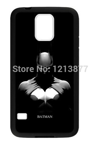 Batman The Dark Knight For Samsung Galaxy S5 TPU rubber Case Cover mobile phone case cell phones Free shipping(China (Mainland))