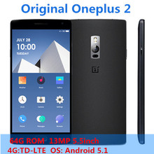 New 100% Original Oneplus Two MSM8994 64Bit Octa Core Mobile Phone Oneplus 2 LTE-FDD Cellphone 13.0MP  5.5inch Smartphone W