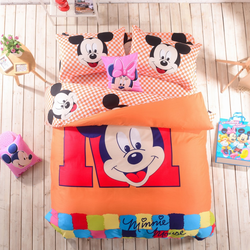 Mickey Mouse Queen Size Sheets Promotion Shop For