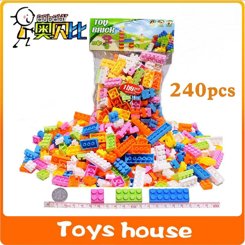 240pcs Building blocks kids minifigures brinquedo toys nanoblock children educational toys store micro block(China (Mainland))