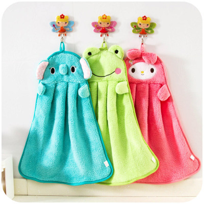 2015 Cute Cartoon Microfiber Kitchen Towel Dry Hands dish cleaning Cloth microfibra wholesale dishcloth accessories(China (Mainland))