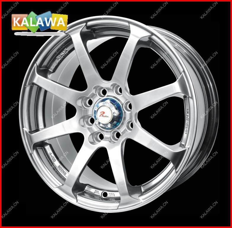 "one set 14 inch Alloy Wheel Racing Wheel Rims (14x6"") H*PCD:8*100/114.3 JF003-Silver Freeshipping GGG(China (Mainland))"