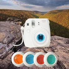 4pcs/set Colorful Filters Fuji Mini 7S/Mini 8 Instant Film Camera Close-Up Lens - Chasing the Future store