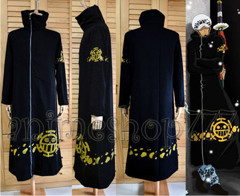 Japan Hot Recommend One Piece Trafalgar Law Coat Hat 2 years later Cosplay Anime Costume