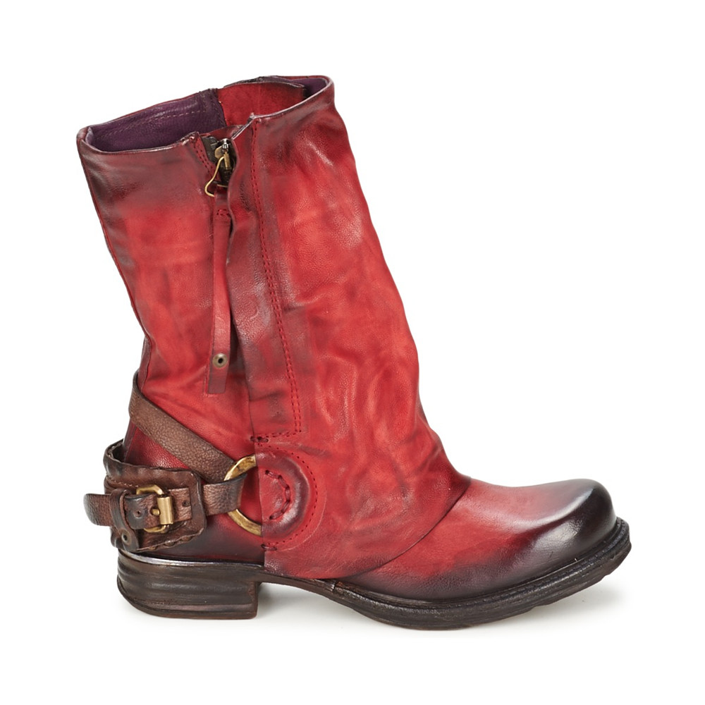 Wonderful Womens Fashion Studded Ankle Biker Boots Low Heel Rock Punk Buckle Strap Shoes | EBay