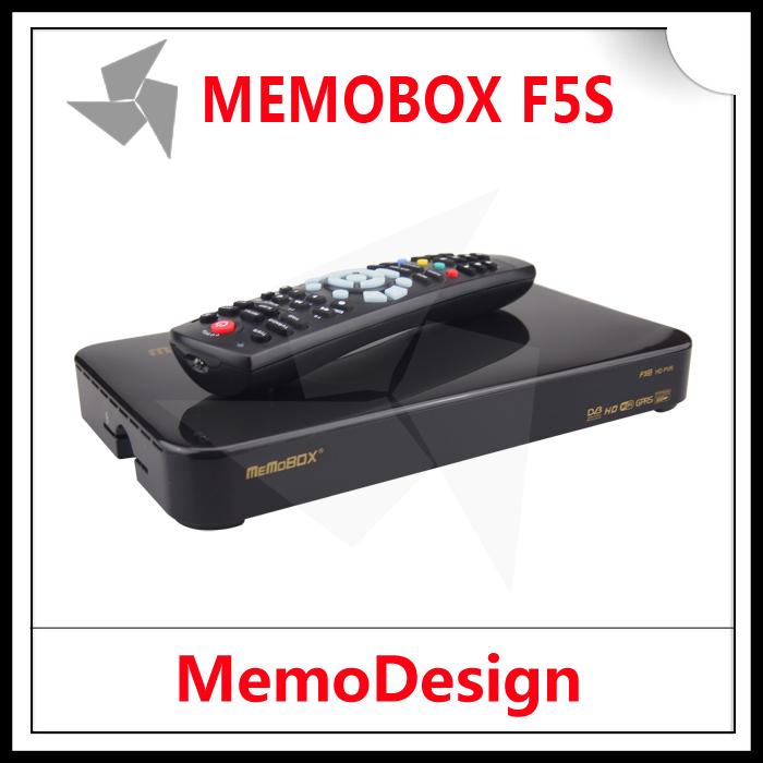 5PCS Original MEMOBOX F5S 1080P Full HD DVB S2 Satellite Reciever(China (Mainland))