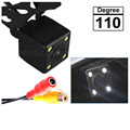 2015 HD CCD Car Rear View Camera Night Vision Waterproof Universal Camera with 4 LED Parking