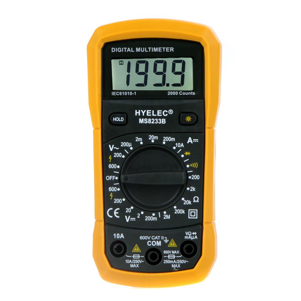 Multifunction Meter 96x96 : Professional ammeter multitester multifunction mini
