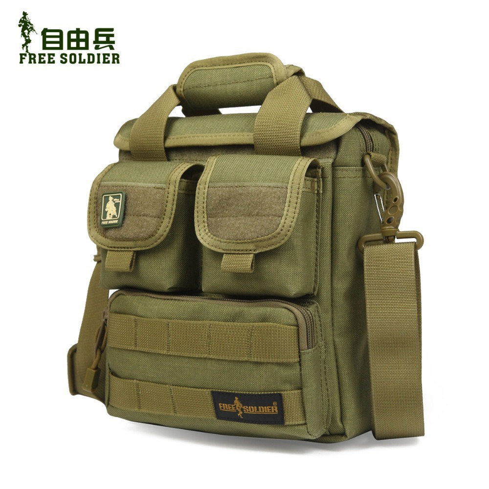 Hiking single shoulder bag men messenger bag men s travel Tactical handy bag 100 CORDURA material