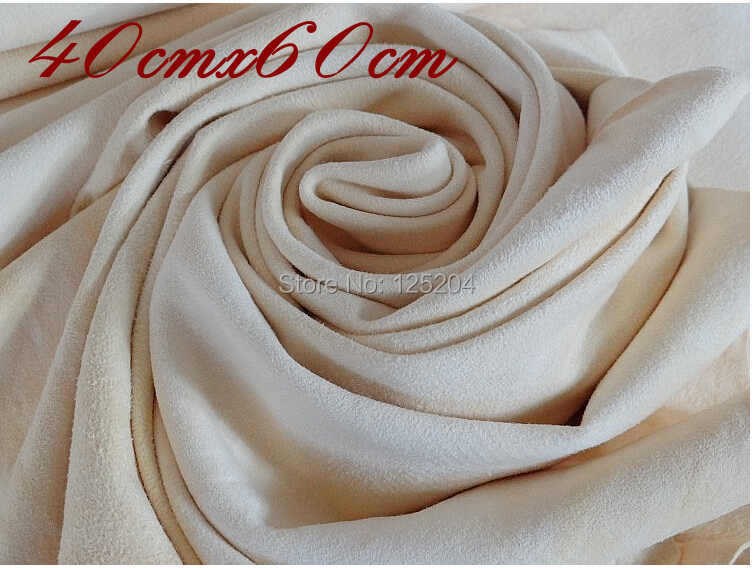 40x60cm Large natual leather deerskin towel cleaning towel natural chamois cleaning deerskin towel genuine leather free shipping(China (Mainland))