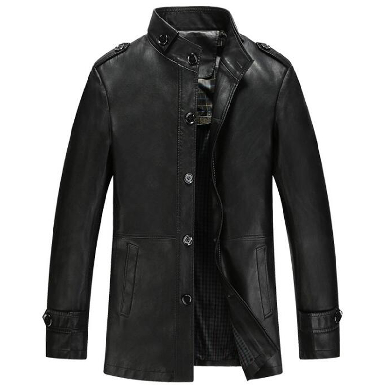 Online Get Cheap Leather Jacket Tall