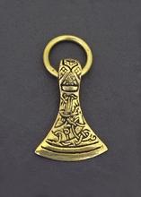 New Handmade Vintage Viking axe Pendant Necklace(China (Mainland))