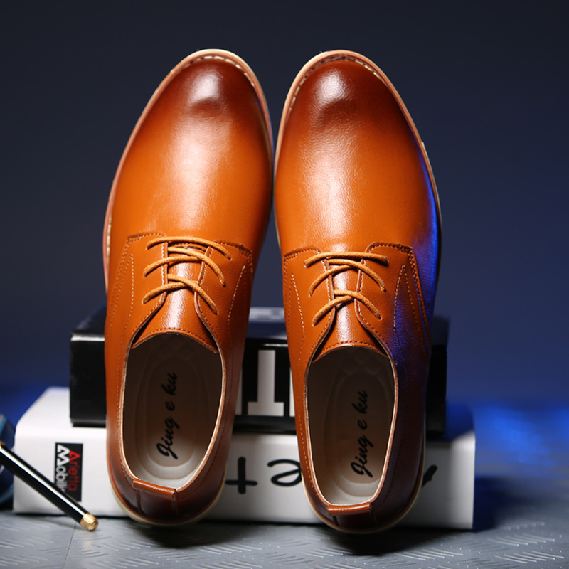 Dekesen New Mens Oxford Shoes 2016 Quality Leather Fashion Dress Shoes Office Luxury Autumn For Casual Shoes for Men Shoes V005<br><br>Aliexpress