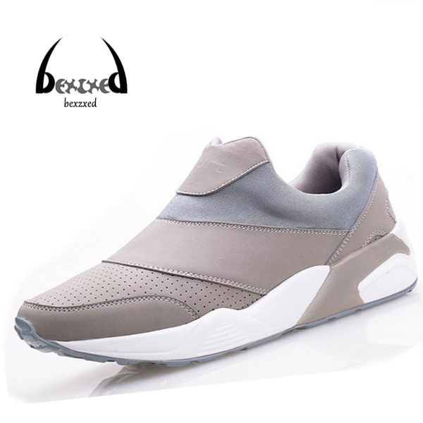 2016 soft fashion brand sport casual shoes man spring canvas light MD sole Breathable shoes flats design shoes Slip-On loafer(China (Mainland))