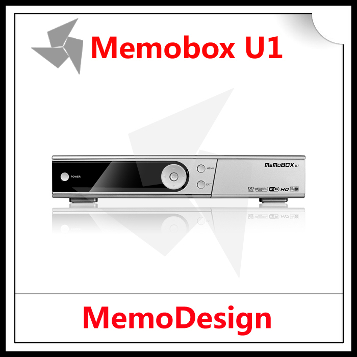 Original Memobox U1 DVB-S2 Full 1080p HD Satellite Receiver Support USB WiFi FTA (Free To Air)Set Top Box(China (Mainland))