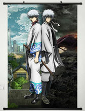 Home Decor Japanese Wall poster Scroll Gintama Sakata Gintoki Anime Cosplay W300