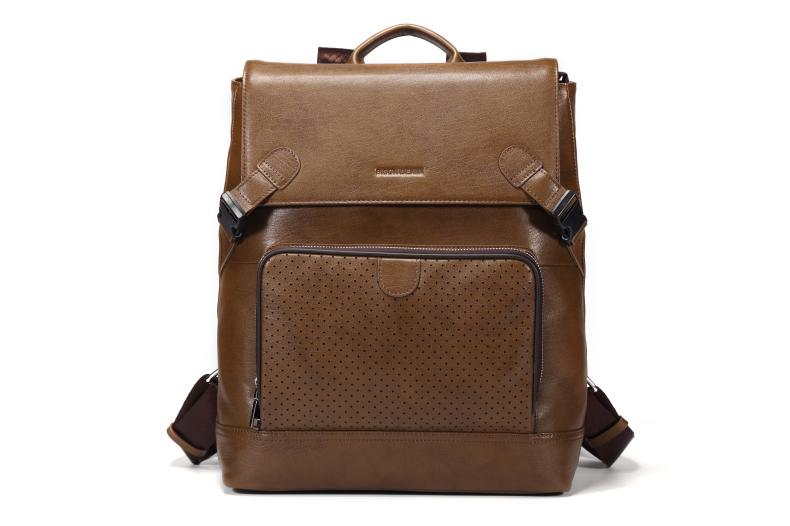Bison Denim Genuine Leather Mens Backpack Large Capacity Soft First Layer Cowhide Men Bag for Laptop<br><br>Aliexpress