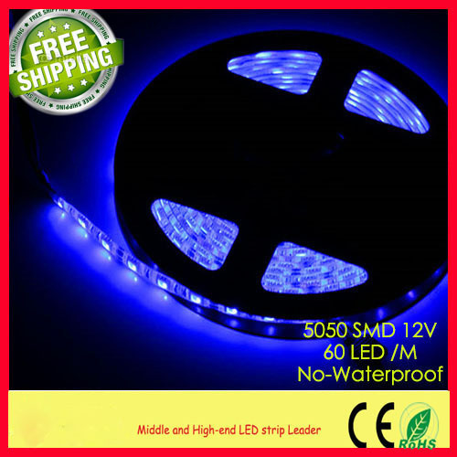 5m/roll waterproof IP65 SMD 5050 LED 14.4W/meter Strip Light led Flexible CE & ROHS bedroom home - K B Home Outlet Store store